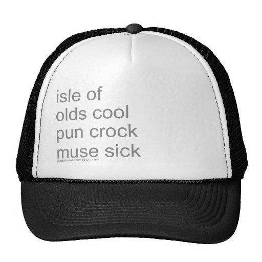 old school punk hat