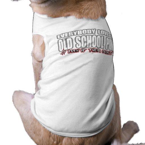 OLD SCHOOL PUNK ROCK guy girl crusty punks Dog Clothes