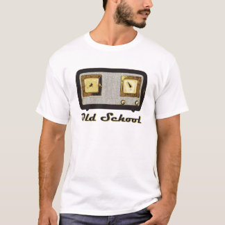 Old School Radio Retro Vintage T-Shirt