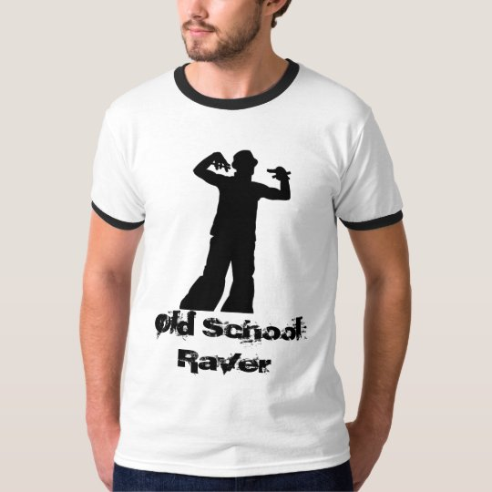 Old School Raver Ringer T T-Shirt