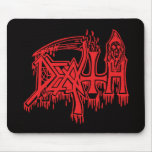 Old school red logo mousepad