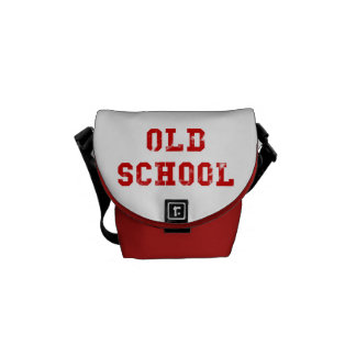 Old School Red Messenger Bag   Oldskool gifts
