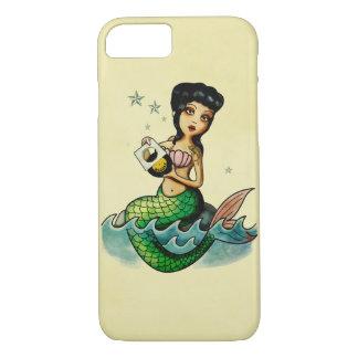 Old School Reggae Mermaid iPhone 8/7 Case