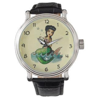 Old School Reggae Mermaid Watch