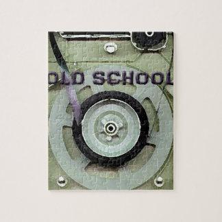 Old School Retro 8 Track Cassette Tape Jigsaw Puzzle