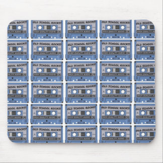 Old School Rocks Cassette Tapes Mouse Pads