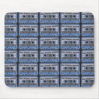 Old School Rocks Cassette Tapes Mousepad