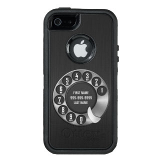 Old School Rotary Dial Phone OtterBox Defender iPhone Case