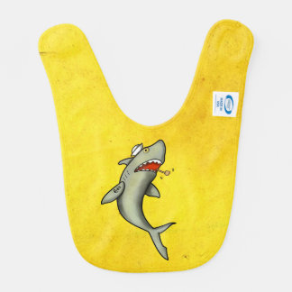 Old School Sailor Shark Bib
