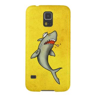 Old School Sailor Shark Galaxy S5 Cover
