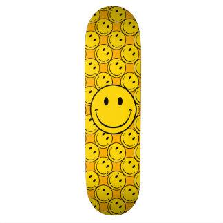Old School Smiley Skateboard Deck