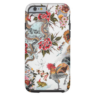 Old School Tattoo Tough iPhone 6 Case