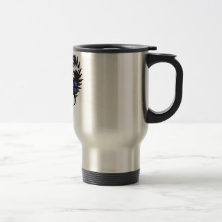 Old School Trucker Stainless Steel Travel Mug