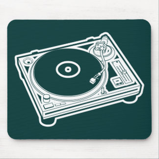 Old School Turntable Mouse Mat