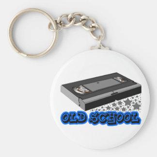 Old School vhs Key Ring