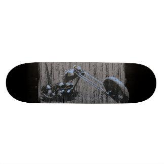 Old School Vintage Skateboard w. Custom Chopper