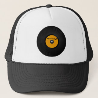 Old School Vinyl hat