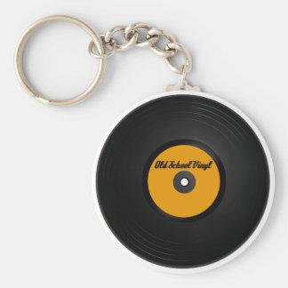 Old School Vinyl keychain