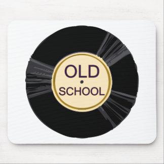 Old School Vinyl Mouse Pad