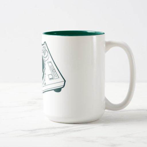 Old School Wax / Turntable Coffee Mugs