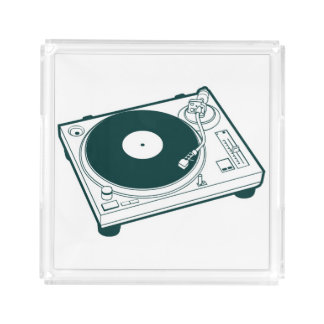 Old School Wax (Vinyl) Turntable Acrylic Tray