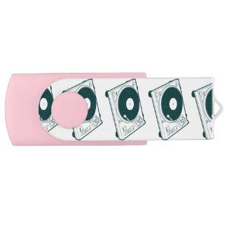 Old School Wax (Vinyl) Turntable USB Flash Drive