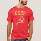 Old School Weathered Soviet CCCP Shirt