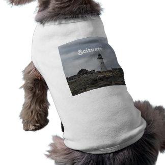 Old Scituate Lighthouse Sleeveless Dog Shirt