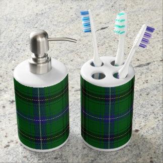 Old Scots Clan Henderson Tartan Plaid Bathroom Sets
