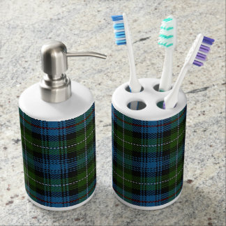 Old Scots Clan MacKenzie Tartan Plaid Bath Sets