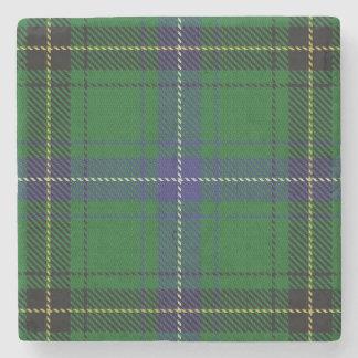 Old Scots Tavern Clan Henderson Tartan Stone Coaster