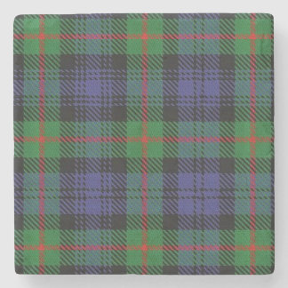 Old Scots Tavern Clan Murray Tartan Stone Coaster