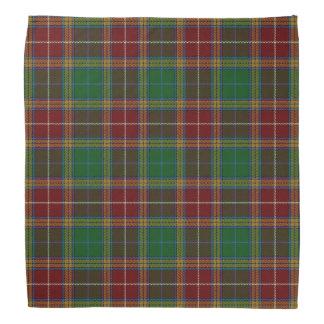 Old Scotsman Clan Baxter Tartan Plaid Kerchief