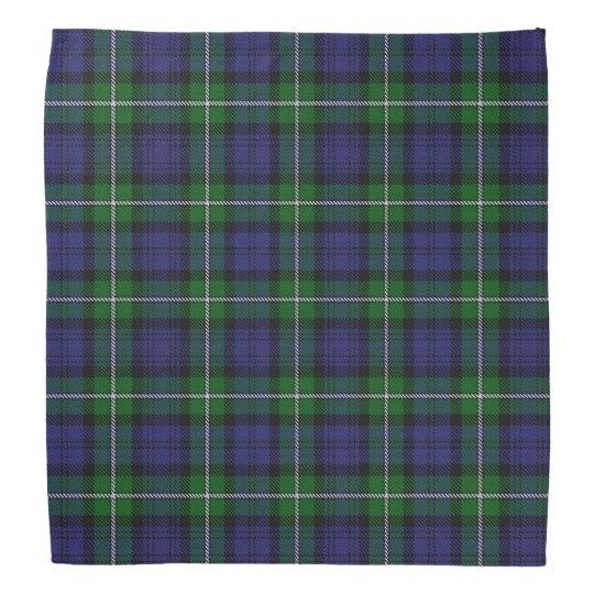 Old Scotsman Clan Forbes Tartan Plaid Bandana