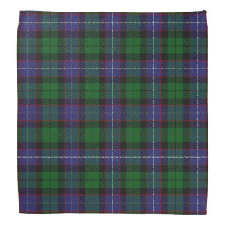 Old Scotsman Clan Galbraith Tartan Plaid Bandana