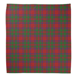Old Scotsman Clan MacKintosh Tartan Plaid Bandana