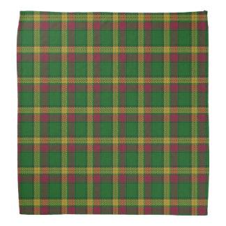 Old Scotsman Clan MacMillan Tartan Plaid Kerchief