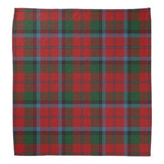 Old Scotsman Clan MacNachtan McNaughton Tartan Head Kerchiefs
