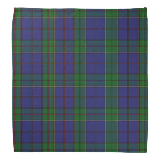 Old Scotsman Clan Strachan Tartan Plaid Bandana