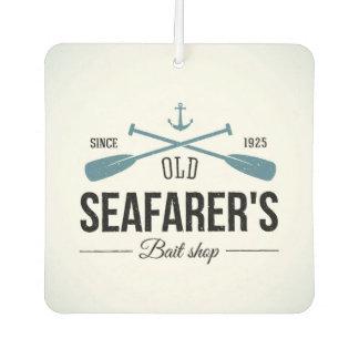 Old Seafarers Bait Shop Car Air Freshener
