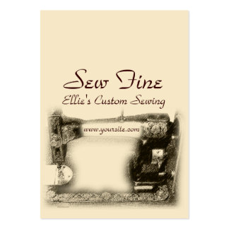 Old Sewing Machine Pack Of Chubby Business Cards