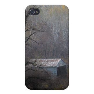 Old Shed in the Woods iPhone 4/4S Cover
