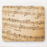 Old Sheet Music Mouse Pad