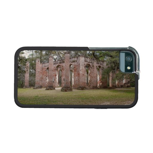Old Sheldon Church Ruins Yemassee South Carolina Cover For iPhone 5/5S