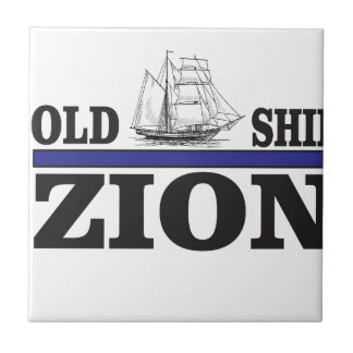 old ship zion small square tile