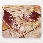 old shoes mousepad