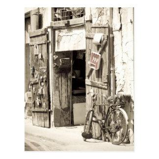 Old shop postcards