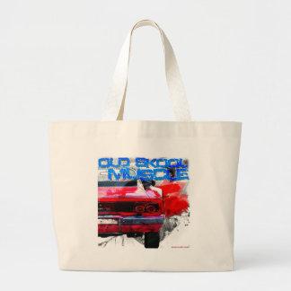 Old Skool Muscle Jumbo Tote Bag