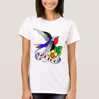 Old Skool Swallow Tattoo T-Shirt