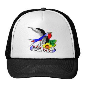 Old Skool Tattoo Swallow Hats